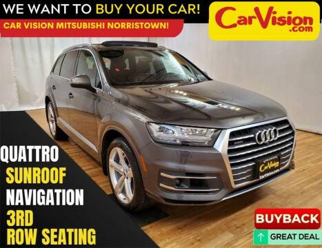 2019 Audi Q7 for sale at Car Vision Mitsubishi Norristown in Norristown PA