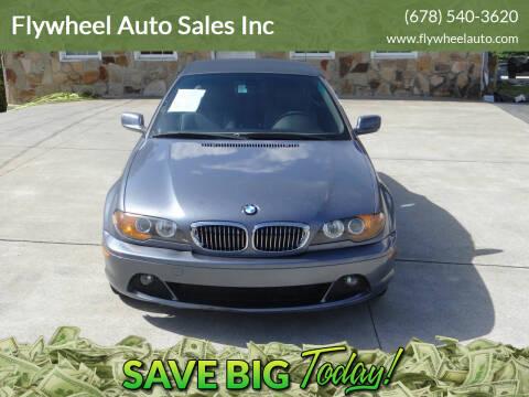 2004 BMW 3 Series for sale at Flywheel Auto Sales Inc in Woodstock GA