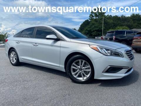 2016 Hyundai Sonata for sale at Town Square Motors in Lawrenceville GA