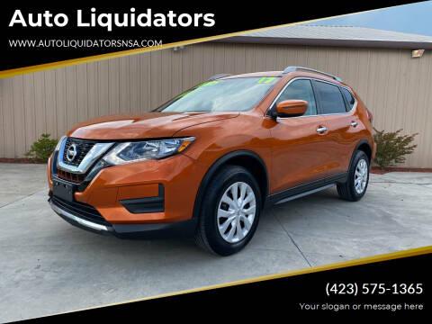 2017 Nissan Rogue for sale at Auto Liquidators in Bluff City TN