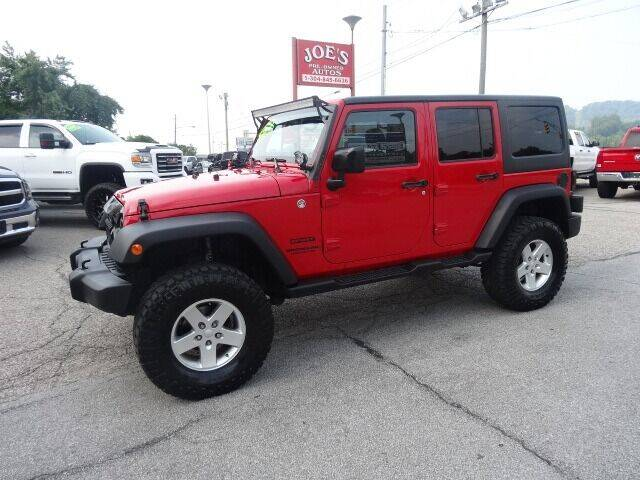 2014 Jeep Wrangler Unlimited for sale at Joe's Preowned Autos in Moundsville WV