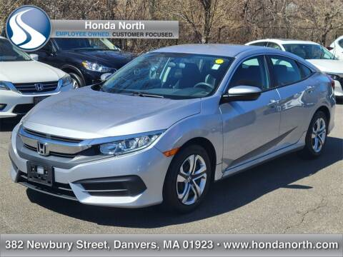 2017 Honda Civic for sale at 1 North Preowned in Danvers MA