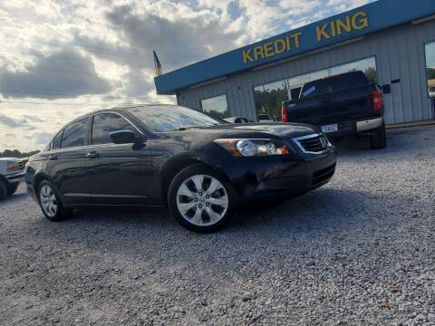 2008 Honda Accord for sale at Kredit King Autos in Montgomery AL