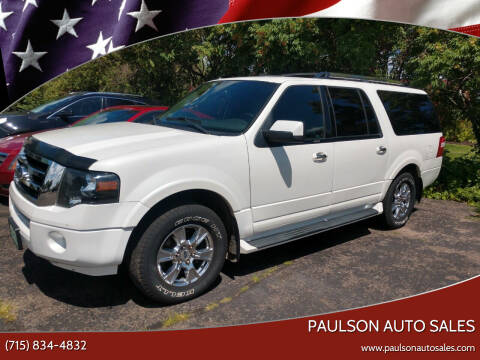 2012 Ford Expedition EL for sale at Paulson Auto Sales in Chippewa Falls WI