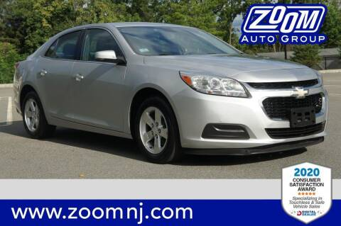 2014 Chevrolet Malibu for sale at Zoom Auto Group in Parsippany NJ