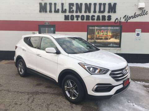 2017 Hyundai Santa Fe Sport for sale at Millennium Motorcars in Yorkville IL