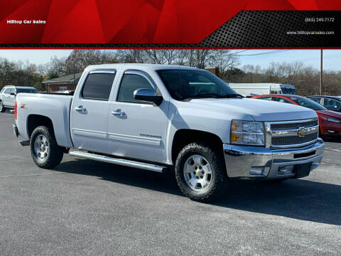 2013 Chevrolet Silverado 1500 for sale at Hilltop Car Sales in Knox TN