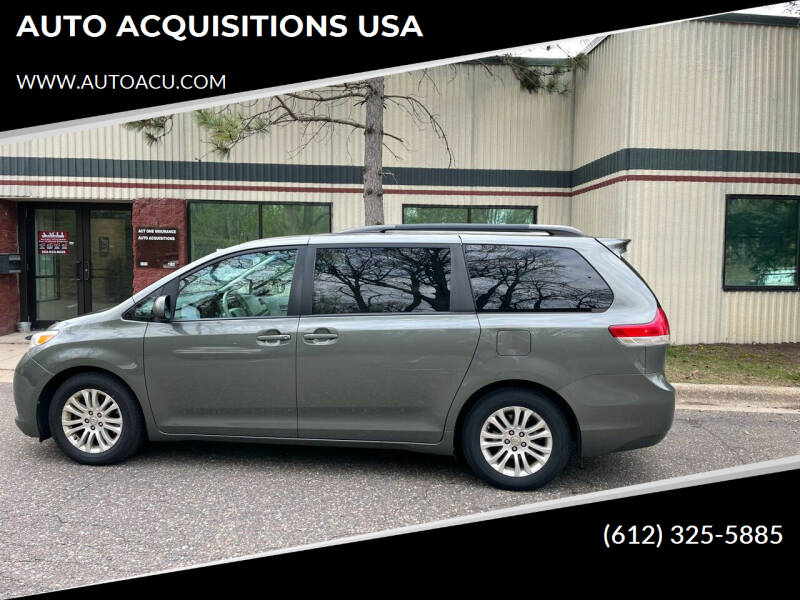 2011 Toyota Sienna for sale at AUTO ACQUISITIONS USA in Eden Prairie MN