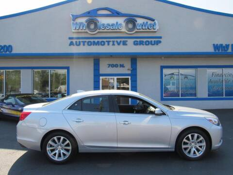 2016 Chevrolet Malibu Limited for sale at The Wholesale Outlet in Blackwood NJ
