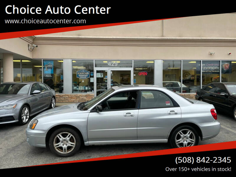 2005 Subaru Impreza for sale at Choice Auto Center in Shrewsbury MA