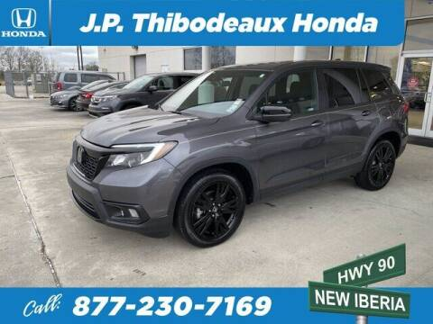 2019 Honda Passport for sale at J P Thibodeaux Used Cars in New Iberia LA