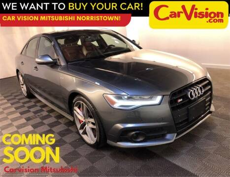 2017 Audi S6 for sale at Car Vision Mitsubishi Norristown in Trooper PA