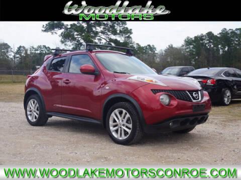 2013 Nissan JUKE for sale at WOODLAKE MOTORS in Conroe TX