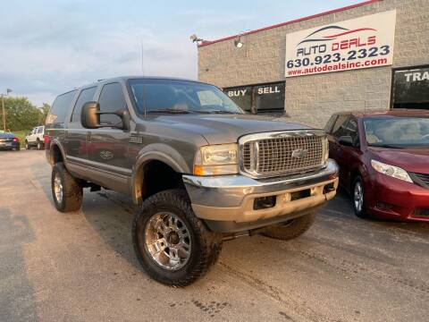 2002 Ford Excursion for sale at Auto Deals in Roselle IL