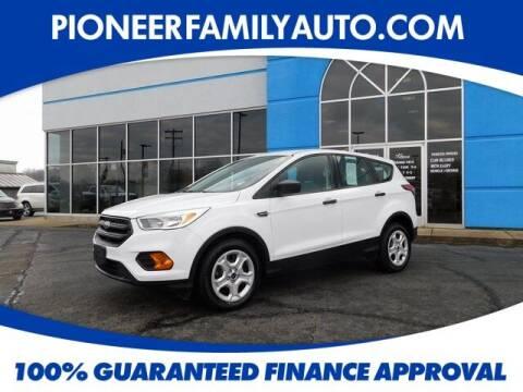 2017 Ford Escape for sale at Pioneer Family auto in Marietta OH