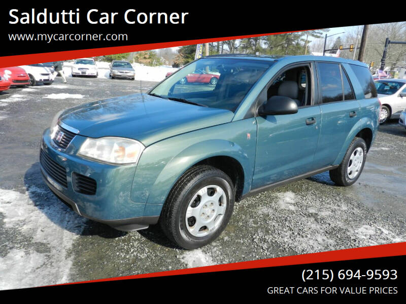 2006 Saturn Vue for sale at Saldutti Car Corner in Gilbertsville PA