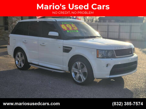 2011 Land Rover Range Rover Sport for sale at Mario's Used Cars - Pasadena Location in Pasadena TX