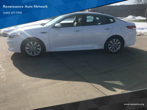 2018 Kia Optima for sale at Renaissance Auto Network in Warrensville Heights OH