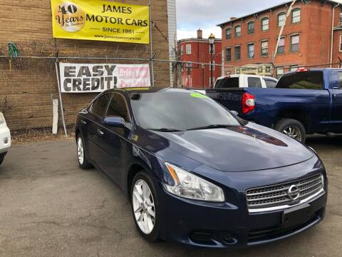 2009 Nissan Maxima for sale at James Motor Cars in Hartford CT