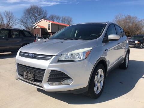 2013 Ford Escape for sale at Wolff Auto Sales in Clarksville TN