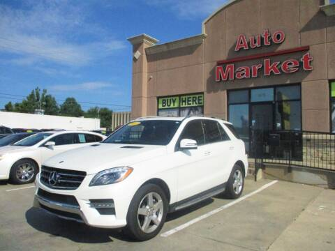 2013 Mercedes-Benz M-Class for sale at Auto Market in Oklahoma City OK