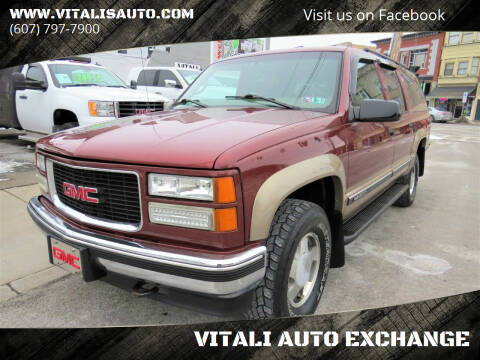 1998 GMC Suburban for sale at VITALI AUTO EXCHANGE in Johnson City NY