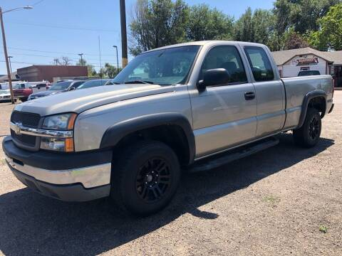 2003 Chevrolet Silverado 1500 for sale at Martinez Cars, Inc. in Lakewood CO