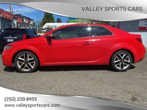 2010 Kia Forte Koup for sale at Valley Sports Cars in Des Moines WA