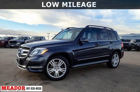 2014 Mercedes-Benz GLK for sale at Meador Dodge Chrysler Jeep RAM in Fort Worth TX