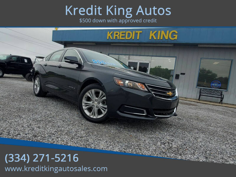 2015 Chevrolet Impala for sale at Kredit King Autos in Montgomery AL