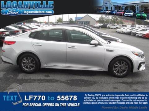 2020 Kia Optima for sale at Loganville Ford in Loganville GA