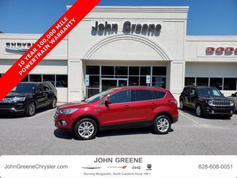 2018 Ford Escape for sale at John Greene Chrysler Dodge Jeep Ram in Morganton NC