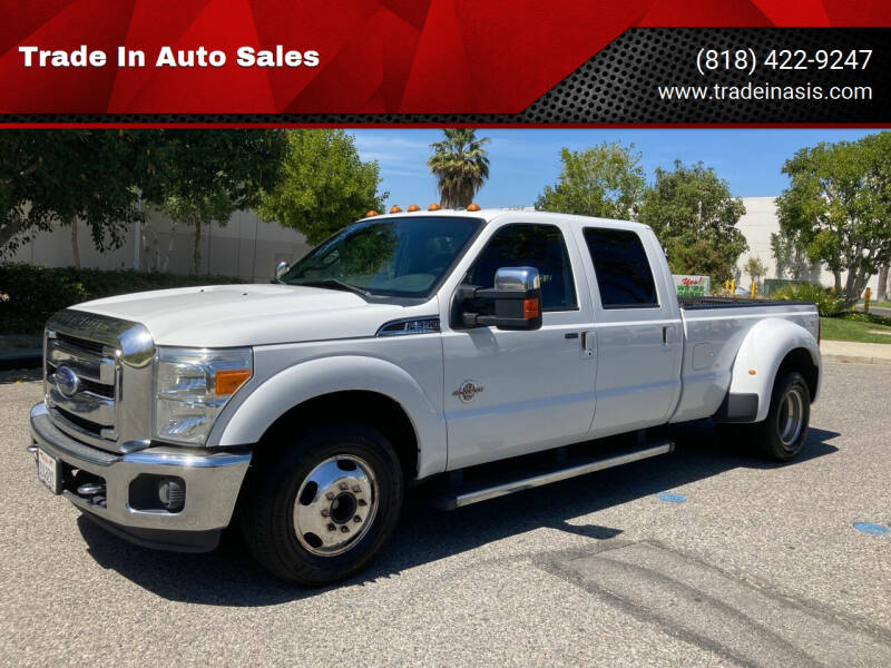 2015 Ford F-350 Super Duty for sale at Trade In Auto Sales in Van Nuys CA