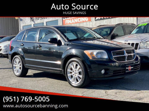 2011 Dodge Caliber for sale at Auto Source in Banning CA