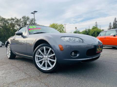 2008 Mazda MX-5 Miata for sale at Alpha AutoSports in Sacramento CA