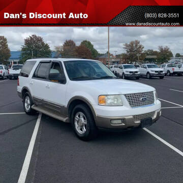 2003 Ford Expedition for sale at Dan's Discount Auto in Gaston SC