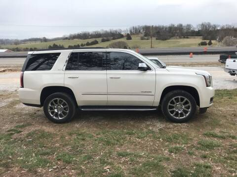 2015 GMC Yukon for sale at Steve's Auto Sales in Harrison AR