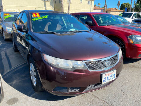 2011 Kia Forte for sale at North County Auto in Oceanside CA