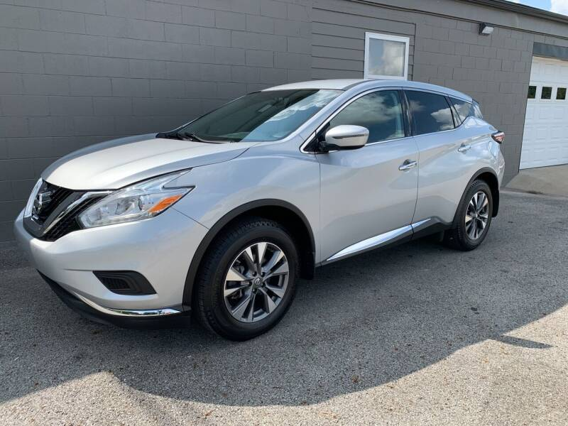 2017 Nissan Murano for sale at Todd Nolley Auto Sales in Campbellsville KY