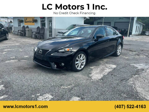 2014 Lexus IS 250 for sale at LC Motors 1 Inc. in Orlando FL