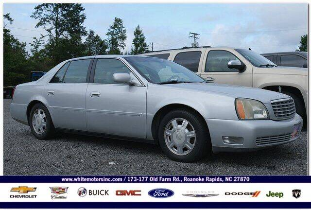 2005 Cadillac DeVille for sale at WHITE MOTORS INC in Roanoke Rapids NC