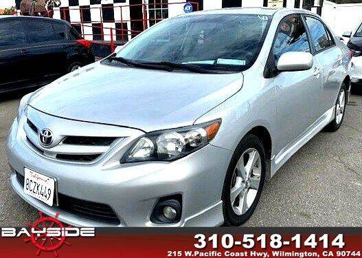 2012 Toyota Corolla for sale at BaySide Auto in Wilmington CA