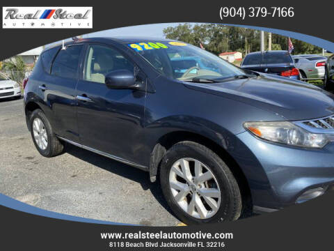 2014 Nissan Murano for sale at Real Steel Automotive in Jacksonville FL