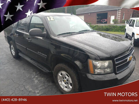 2012 Chevrolet Suburban for sale at TWIN MOTORS in Madison OH