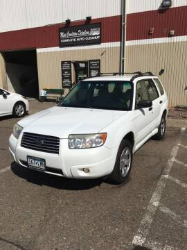 2007 Subaru Forester for sale at Specialty Auto Wholesalers Inc in Eden Prairie MN