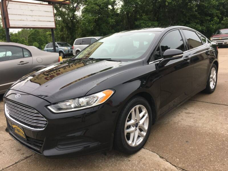2014 Ford Fusion for sale at Town and Country Auto Sales in Jefferson City MO
