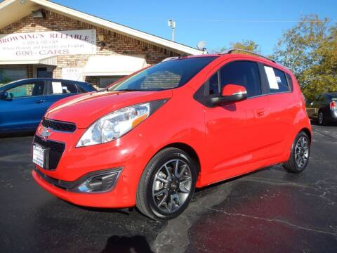 2014 Chevrolet Spark for sale at Browning's Reliable Cars & Trucks in Wichita Falls TX