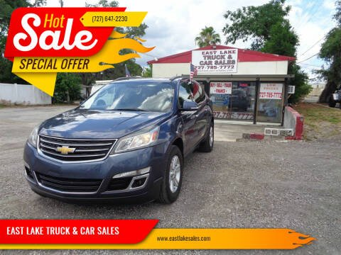 2013 Chevrolet Traverse for sale at EAST LAKE TRUCK & CAR SALES in Holiday FL