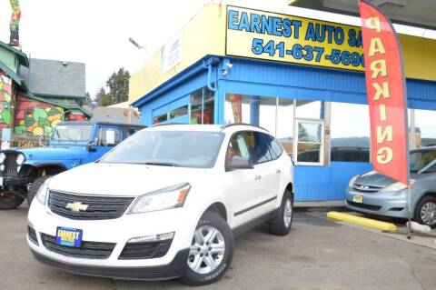 2013 Chevrolet Traverse for sale at Earnest Auto Sales in Roseburg OR