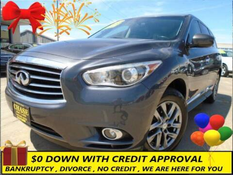 2013 Infiniti JX35 for sale at Chase Auto Credit in Oklahoma City OK